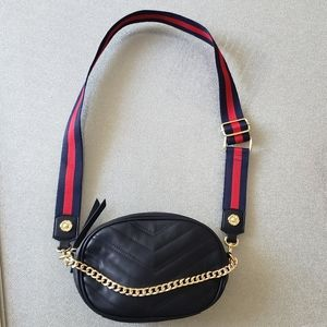 Quilted small crossbody